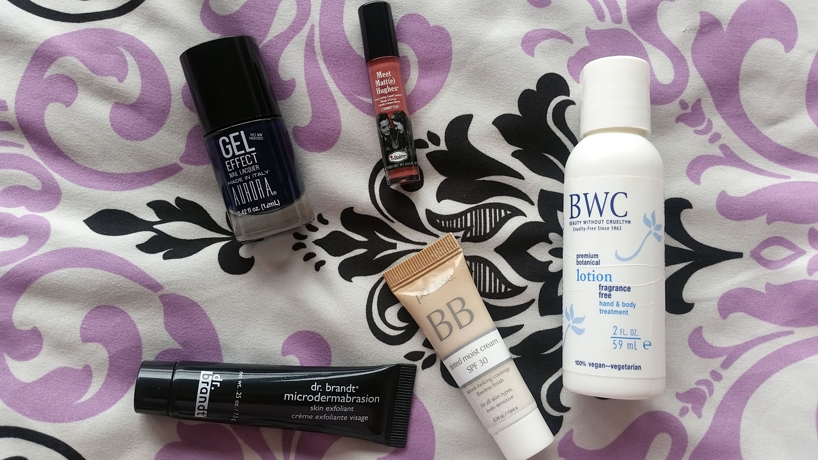 Ipsy Makeup Haul Part 1