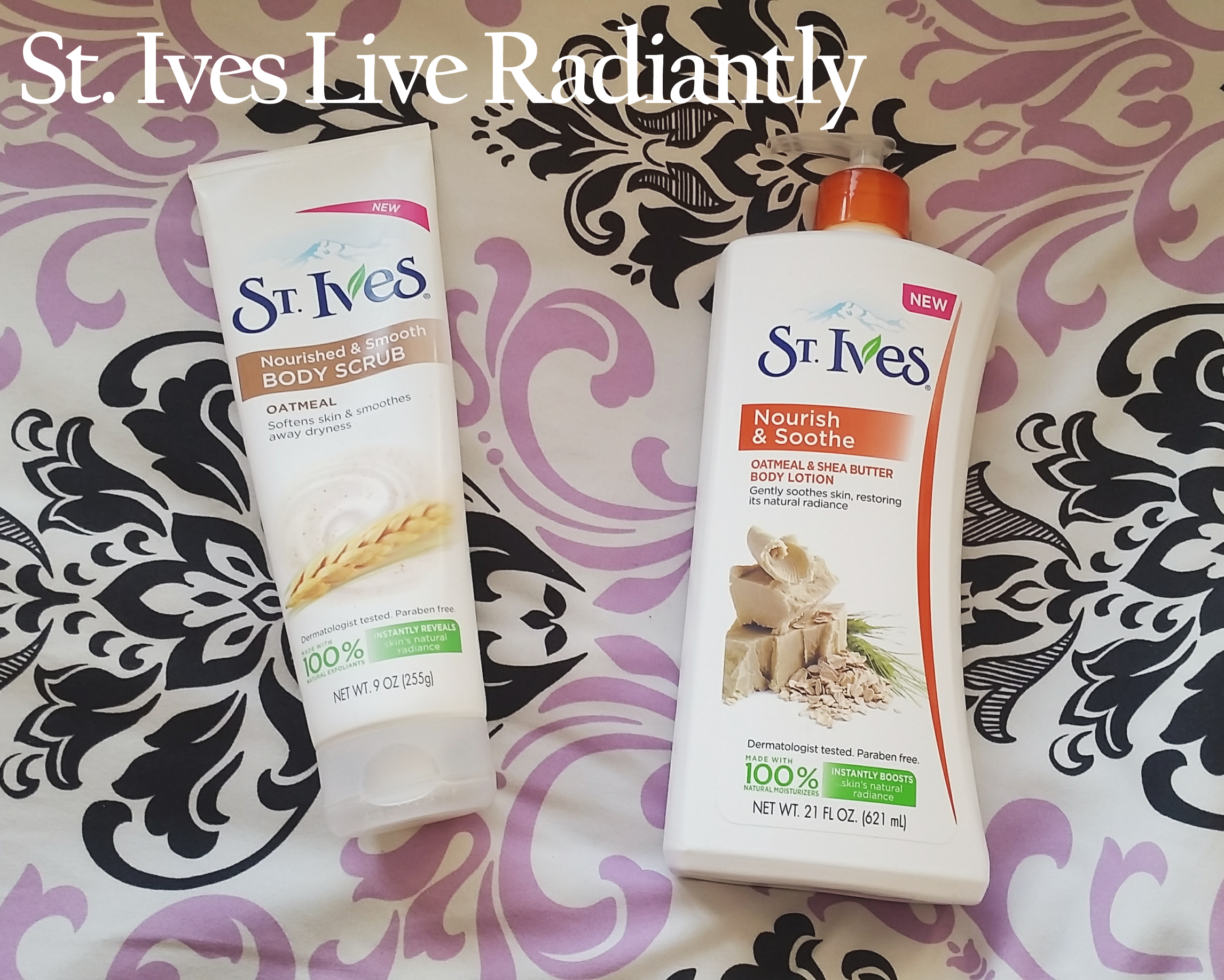 St. Ives Live Radiantly VoxBox from Influenster